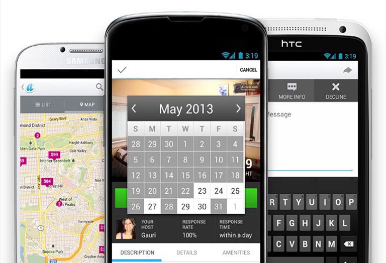 изображение с визуализацией приложения Аирбнб на Android_