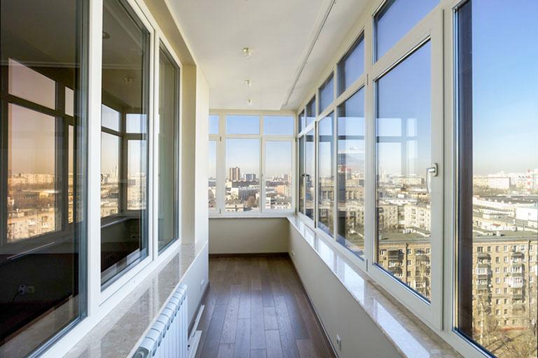 пример№14 показ ценности объекта недвижимости через фото – балкон с красивым видом_