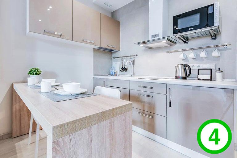 фото-изображение№4 – точка обзора на зону кухни_